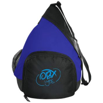 Embroidered Sky Blue OBX Lyfe Port Authority Active Sling Pack in 5 Colors