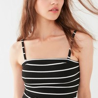 Project Social T Annie Striped Ribbed Knit Cami | Urban Outfitters