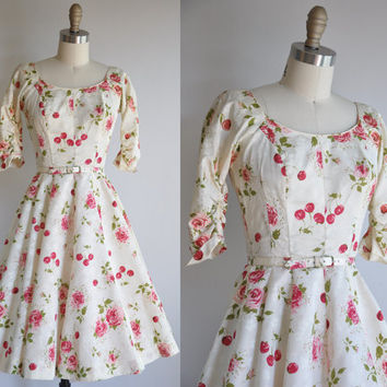 vintage 1950s designer Gigi Young Cherry and by simplicityisbliss