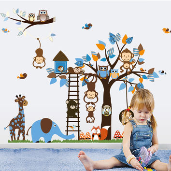 Animal Decals animal wall decal