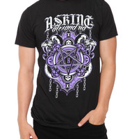 Asking Alexandria Pentagram Slim-Fit T-Shirt | Hot Topic