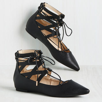 Ghillie of the Valley Flat | Mod Retro Vintage Flats | ModCloth.com