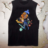 Bravest Warriors funny tanktop for men and women