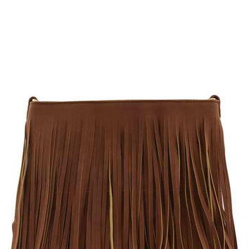 //Boho Fringe// - Brown