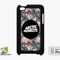Arctic Monkeys Floral Vintage iPod Touch 4th Case Cover by Avallen