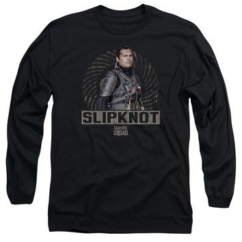 Suicide Squad - Slipknot Rope Long Sleeve Adult 18/1 Officially Licensed Shirt