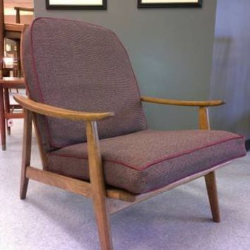 Mid Century Vintage Danish-Style Lounge Chair
