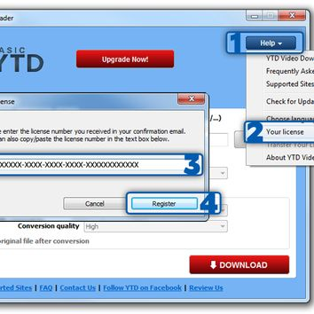 YouTube Downloader (YTD) Pro V5.1.1.1 Crack/License key FREE