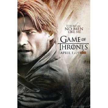 Game Of Thrones poster Metal Sign Wall Art 8in x 12in