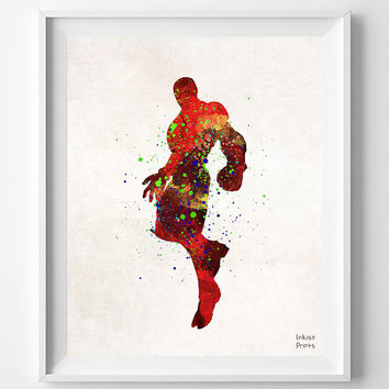 Ironman, Print, Watercolor, Superhero, Illustrations, Art, Iron Man, Poster, Wall Art, Minimalist, Home Decor, Movie Poster, Geek [NO 700]