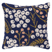 Midnight Meadow Pillow 18X18