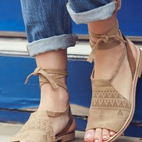 Free People Folk Song Sandal