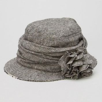 Charcoal Chambray Bucket Hat