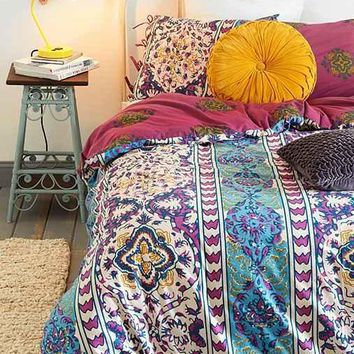 Magical Thinking Boho Stripe Duvet Cover