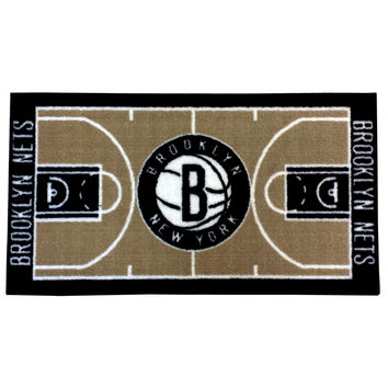 NBA Brooklyn Nets Rug Basketball Runner Carpet