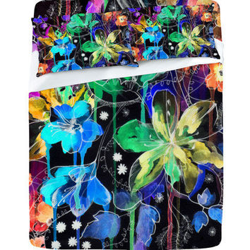 DENY Designs Home Accessories | Holly Sharpe Lost In Botanica 2 Sheet Set