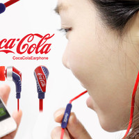 Strapya World : Coca Cola Special Edition Earphone