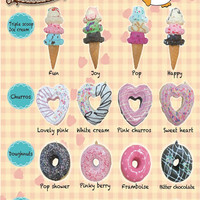 Sammy Super Kawaii Squishy Doughnuts