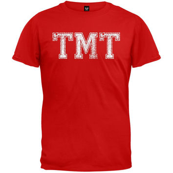 TMT Vintage Red Adult T-Shirt