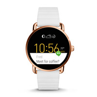 Q Wander Touchscreen White Silicone Smartwatch - $295.00