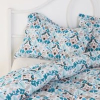 Folk Birds Shams - Set of 2