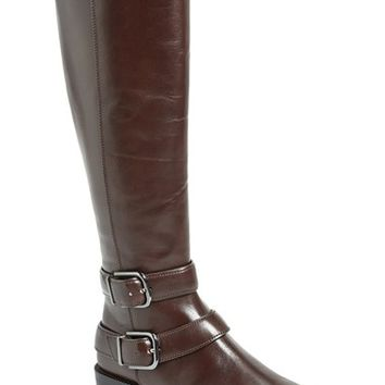 Women's Via Spiga 'Bernadette' Leather Riding Boot