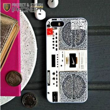 CREYUG7 Nike Air Jordan Radio Boombox iPhone 5C Case|iPhonefy