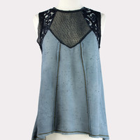 Chriselle Top in Blue