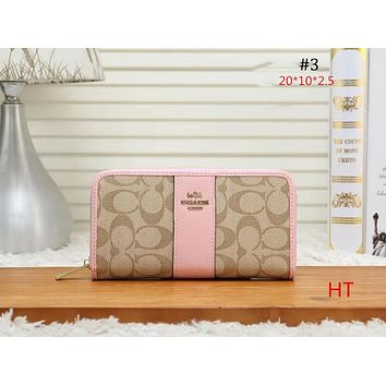 COACH 2018 new trend female models long clutch bag wallet #3