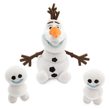 Olaf and Snowgies Plush Bundle - Mini Bean Bag - 8'' - Frozen Fever