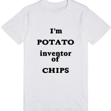 Potato, inventor of chips