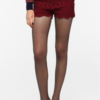 Urban Outfitters - Pins and Needles Lace Tap Short