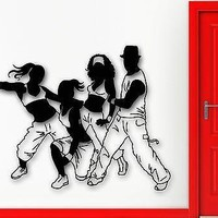 Wall Sticker Vinyl Decal Dance Hip Hop Fitness Sport Healthy Lifestyle Unique Gift (ig1998)