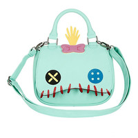 Loungefly Disney Lilo & Stitch Scrump Face Mini-Saddle Bag