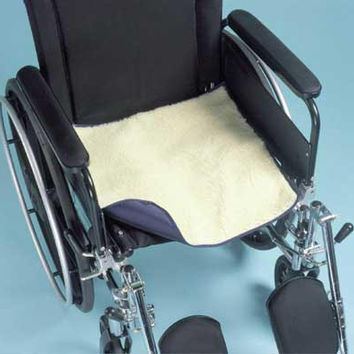 Sherpa Chair Pad w/Incontinence Barrier 18 x18