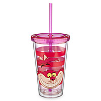 Cheshire Cat Tumbler with Straw