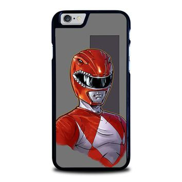 power rangers red iphone 6 6s case cover  number 1
