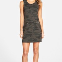 Women's Sanctuary 'Mod Molly' Camo Print Shift Dress,