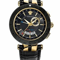 Versace - Black V Race GMT 46 mm