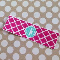 Monogrammed Charging Block Decal | iPhone Decal | Monogrammed iPhone Decals | Personalized iPhone Block | iPhone Charger