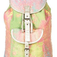 Earth Print Backpack - Backpacks - Bags & Wallets - Accessories - Topshop USA