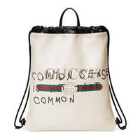 Gucci - Gucci Coco Capitán logo backpack