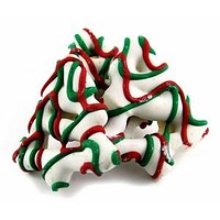Christmas Tree Frosted Pretzels