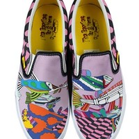 Vans The Beatles Sea of Monsters Classic Slip-On Trainers - Buy Online at Grindstore.com