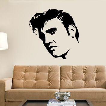 Elvis Presley Large Bedroom Wall Mural Art Stickers