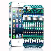 SODIAL(R) Mystery Tribe Totem Print Hard Case Cover for Apple iPhone 5 5G