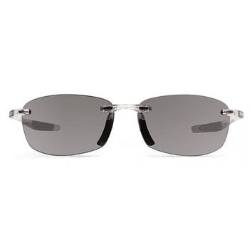 Revo - Descend E Crystal Sunglasses, Graphite Serilium Lenses