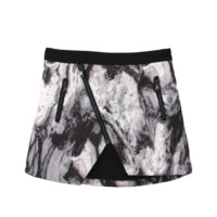 Marble Asymmetric Skirt