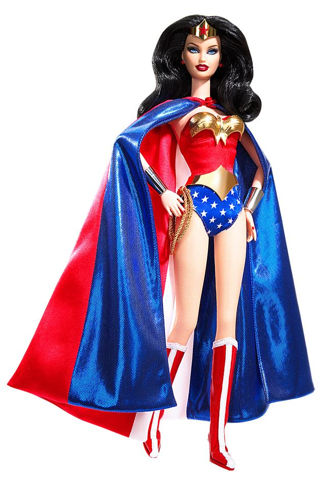 Wonder woman barbie 174 doll barbie from barbiecollector com