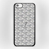 White Goyard for iPhone Case (iPhone 6 White Rubber)